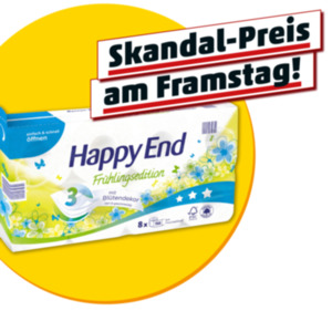 HAPPY END Toilettenpapier