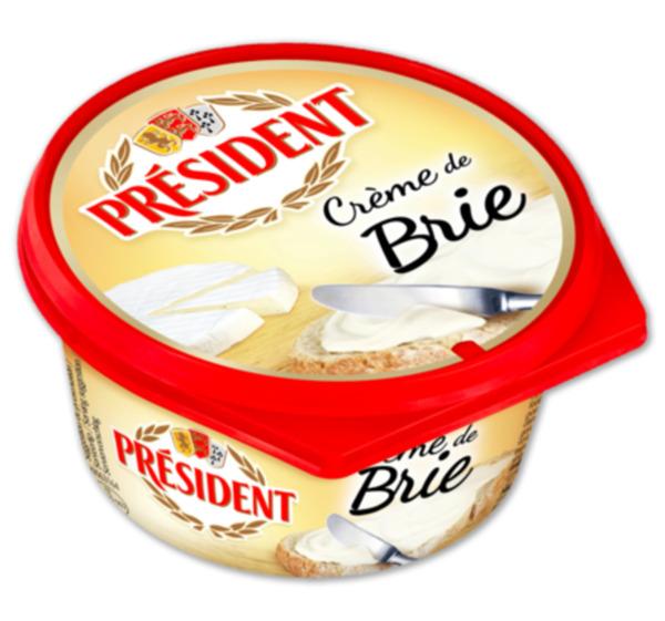 PRÉSIDENT Crème de Brie