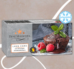 BEST MOMENTS Lava Cake