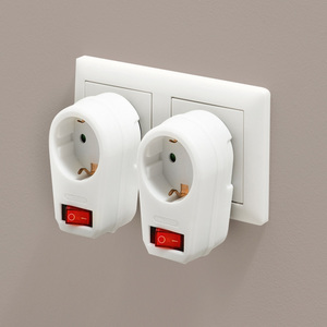 Powertec Electric 2er-Set Zwischenstecker