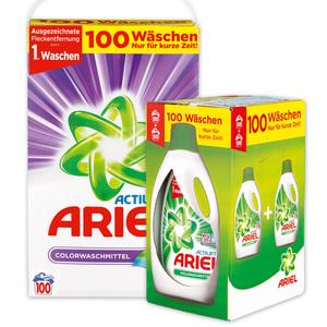 Ariel Actilift Pulver oder Gel