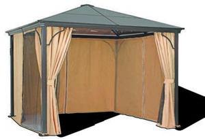 Plexiglas-Pavillon