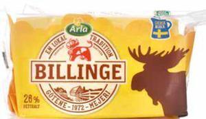 Arla Billinge Käse im Stück
