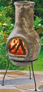 Keramik-Feuerstelle