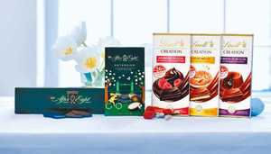 Lindt Creation Tafeln