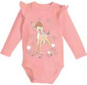 Bambi oder Dumbo 2er-Pack Baby Bodys