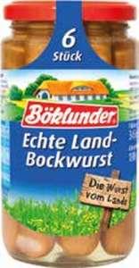 Böklunder Landbockwurst