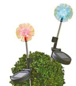 "Garden Dream LED-Solarlampe ""Pusteblume"""