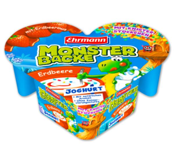 EHRMANN Monster Backe Knisterjoghurt von Penny Markt ansehen!