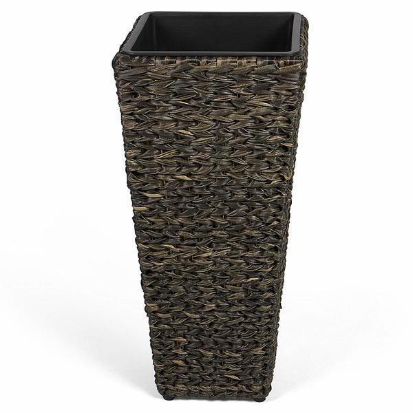park alley kunststoff pflanzk bel in schwarz blumenk bel. Black Bedroom Furniture Sets. Home Design Ideas
