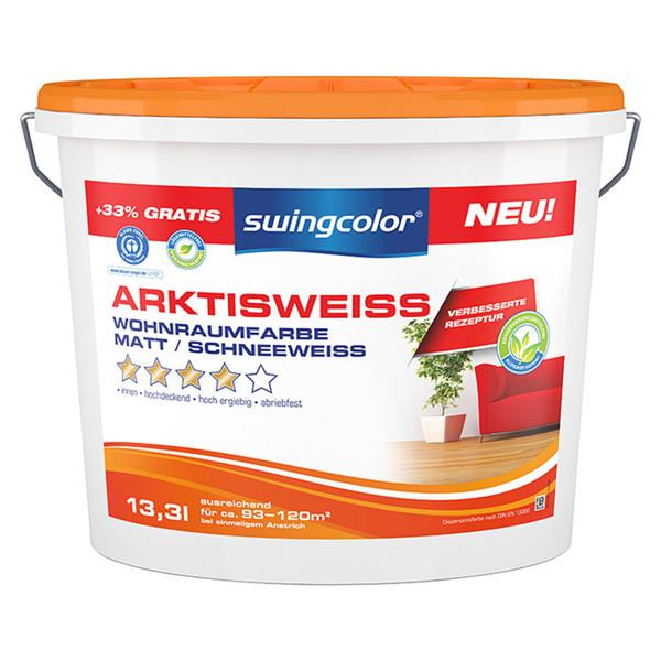 Swingcolor Wandfarbe Arktisweiß Von Bauhaus Für 32,95