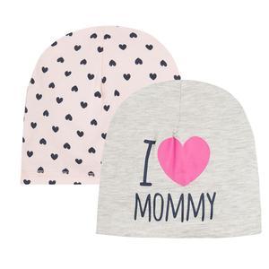 Baby Mütze 2-er Pack für Mädchen
