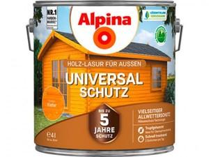 Alpina Universalschutz Holzlasur ,  4 l, kiefer