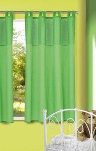 Vorhang Punkte, grün, 175x135, (1 Schal) Gr. 175 x 135