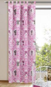 Vorhang Plüschis Tiere, 245 x 135 cm