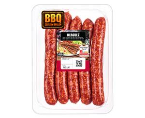 BBQ Rind/Lamm Merguez*