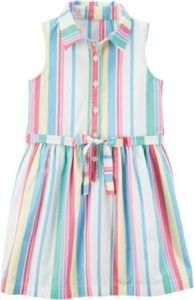 Kinder Kleid gestreift Gr. 92 Mädchen Kleinkinder