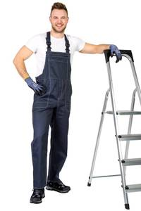 Latzhose Farbe anthrazit Wisent Work Wear