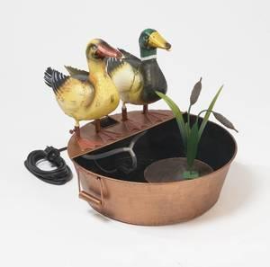 Brunnen Entenpaar