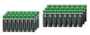 CARDIOCELL Alkaline Plus Batterien - 24er Spar Boxen