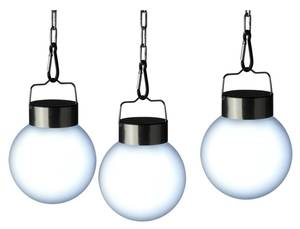 LED Solarkugel zum Aufhängen im 3er Set FHS