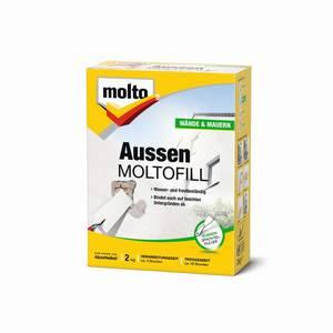 Außenspachtel Moltofill weiß/ 2 kg Molto