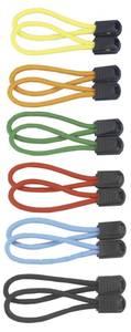 Reißverschluss-Anhänger Zipper, 12 Stück