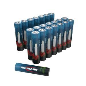 Alkaline Micro (AAA) Batterie Box - 22 Stück Ansmann