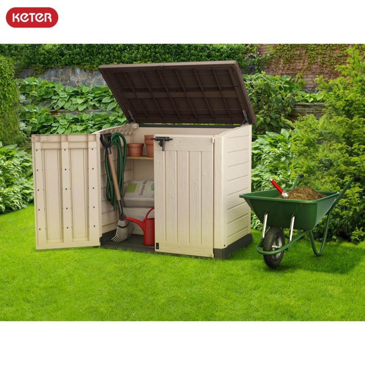 Bild 1 von Keter Garten-Aufbewahrungsbox Store-It-Out Max 145,5x125x82cm