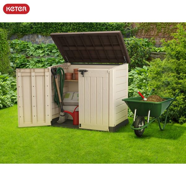Keter Garten-Aufbewahrungsbox Store-It-Out Max 145,5x125x82cm