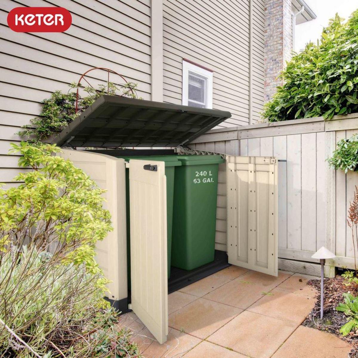 Bild 2 von Keter Garten-Aufbewahrungsbox Store-It-Out Max 145,5x125x82cm