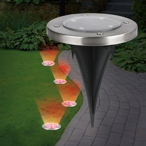 EASYmaxx Solar-Bodenleuchten mit Farbwechsel