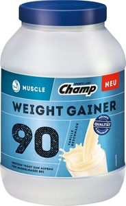 CHAMP Muscle Protein Weight Gainer Vanille 1500g