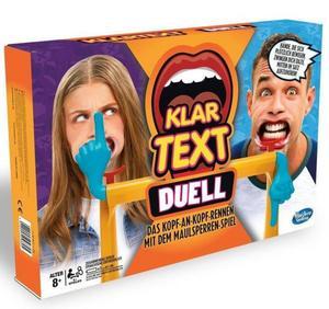 Hasbro E1917100 - Klartext Duell, Erwachsenenspiel, Partyspiel