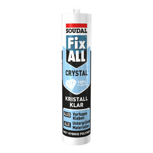 Soudal Dichtstoff Fix ALL® Crystal kristallklar