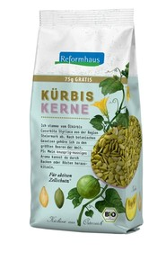 Reformhaus Bio Kürbiskerne 500 g + 75 g gratis