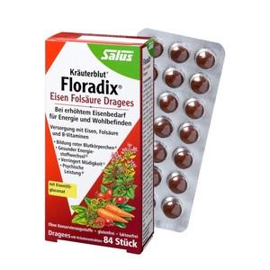 Salus  Kräuterblut® Floradix®  Eisen-Folsäure-Dragees
