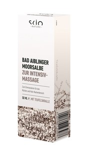 Scio Nature  Bad Aiblinger Moorsalbe zur Intensiv-Massage 50 ml