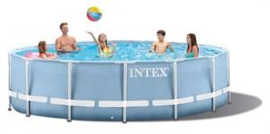 Intex Frame-Pool-Set Prism Rondo ,  Ø 457 cm x 107 cm