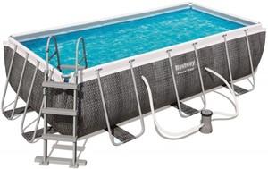 Bestway Pool Set Power Steel Deluxe ,  404 x 201 x 100 cm, inkl. Filterpumpe