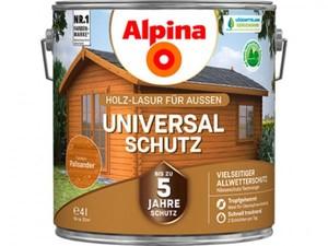Alpina Universalschutz Holzlasur ,  4 l, palisander