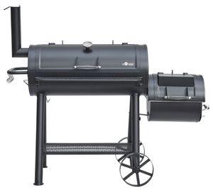 El Fuego Buffalo Smoker Holzkohlegrill