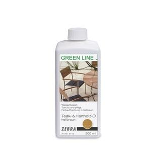 ZEBRA 500 ml Teak- und Hartholzöl GREEN LINE