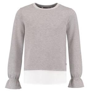 GARCIA             Sweatshirt, Trompetenärmel, Bluseneinsatz am Saum,  für Mädchen