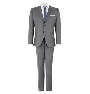 SELECTED             Business-Anzug, Slim Fit, meliert
