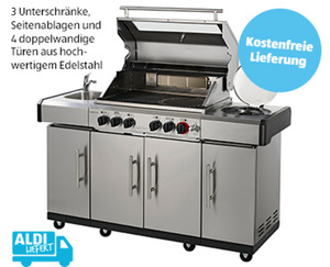 Outdoorküche KANSAS Pro 4 SIK Profi Turbo¹