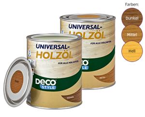 DECO STYLE®  Universal-Holzöl, 1 l