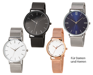 SEMPRE Meshband-Armbanduhr