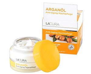 LACURA Arganöl Anti-Aging Gesichtspflege