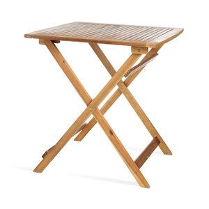 Tisch aus Akazienholz, FSC® 100%, L:70cm x H:74cm, natur